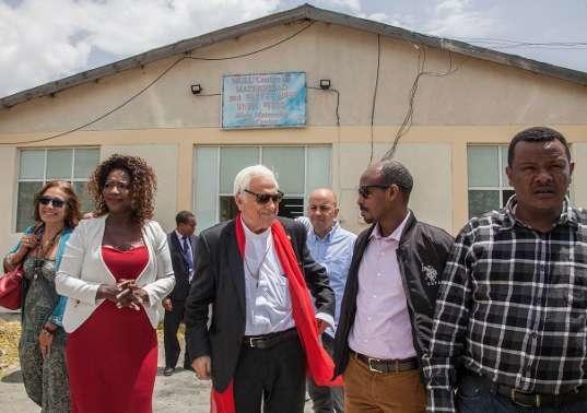 El Padre Ángel inaugura un centro materno-infantil en Etiopía