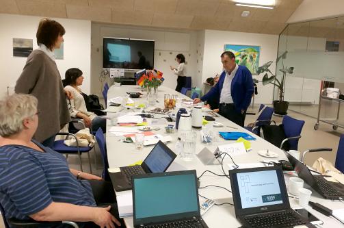 Reunión inicial proyecto AppForDem_ app educativa para cuidadores con demencia (Erasmus+). 20-21/01/2020 Aarhus (Dinamarca)